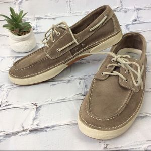 Sperry Top-Sider Suede Leather Shoes, Size 12